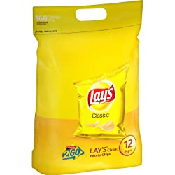 Lay's Classic Potato Chips, 12 Singles