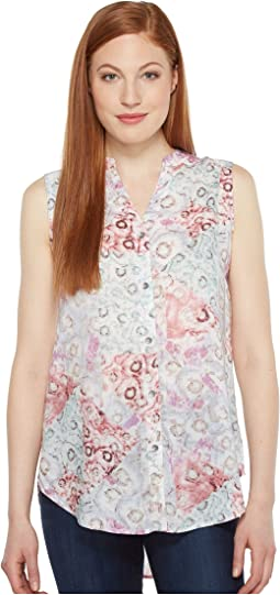 Aspen Sleeveless Top in Rayon Print