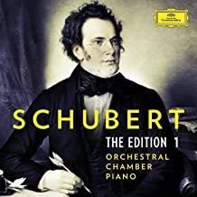 Schubert Edition 1 Orchestral Chamber Piano Var