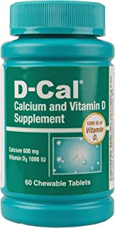 D-Cal® Adult 600 Calcium and Vitamin D Dietary Supplement