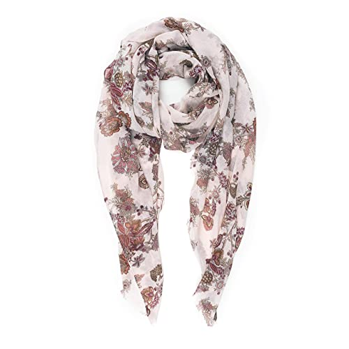NEW*OVERSIZE VISCOSE BEAUTIFUL VERY SOFT CAMOUFLAGE QUIRKY PRINT SCARF*DEEP RED*
