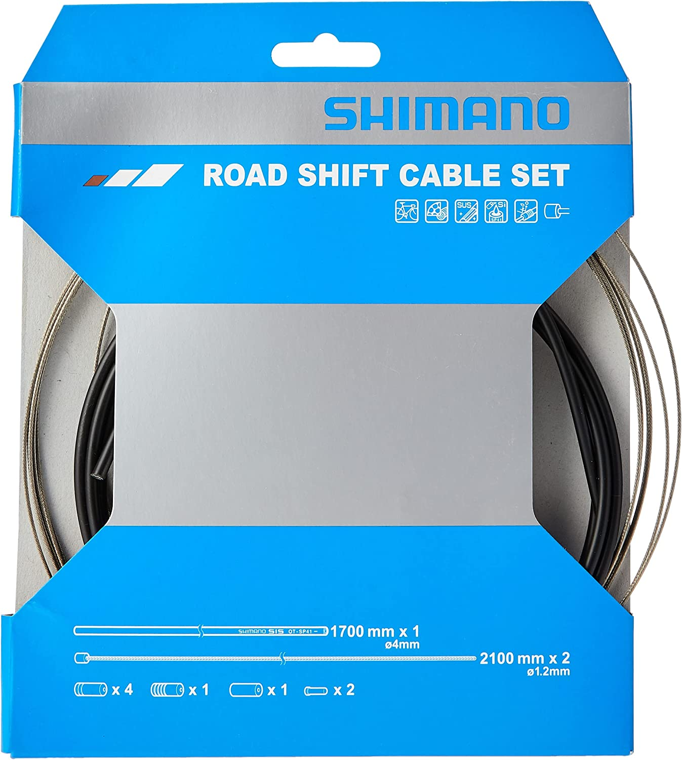 SHIMANO Road Acer Cable Max 54% OFF Sleeve and 2016 Black Cheap super special price