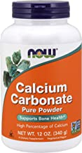 Now Foods Calcium Carbonate Pure Powder - 340 g