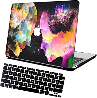 AOGGY MacBook Air 13 inch Case 2020 2019 2018 Version Model A1932 A2179,Color Plastic Hard Shell Cases and Keyboard Cover ,for MacBook Air 2020 Version A2179 with Touch ID - Color Oil Painting