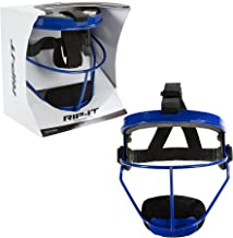 RIP-IT Defense Softball Fielder's Mask – Lightweight Secure Fit Provides Maximum Protection and Comfort – Does Not Obstruct View – Ponytail Friendly