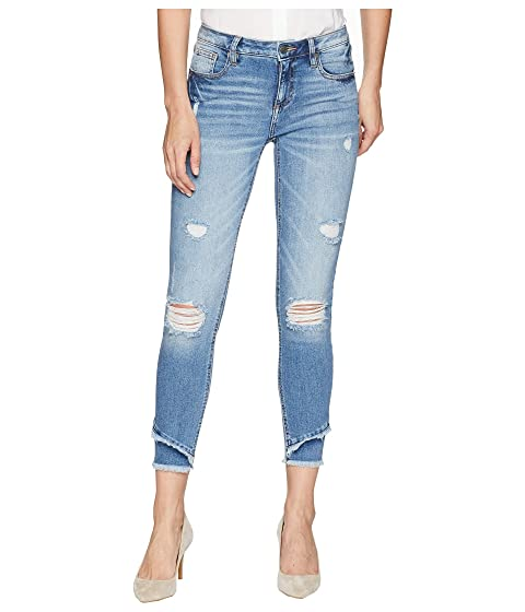 MISS ME Mid-Rise Ankle Skinny Jeans In Denim, Denim