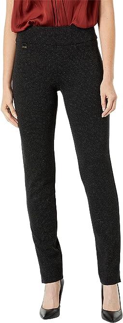 Cassandra Print Slim Leg Pants