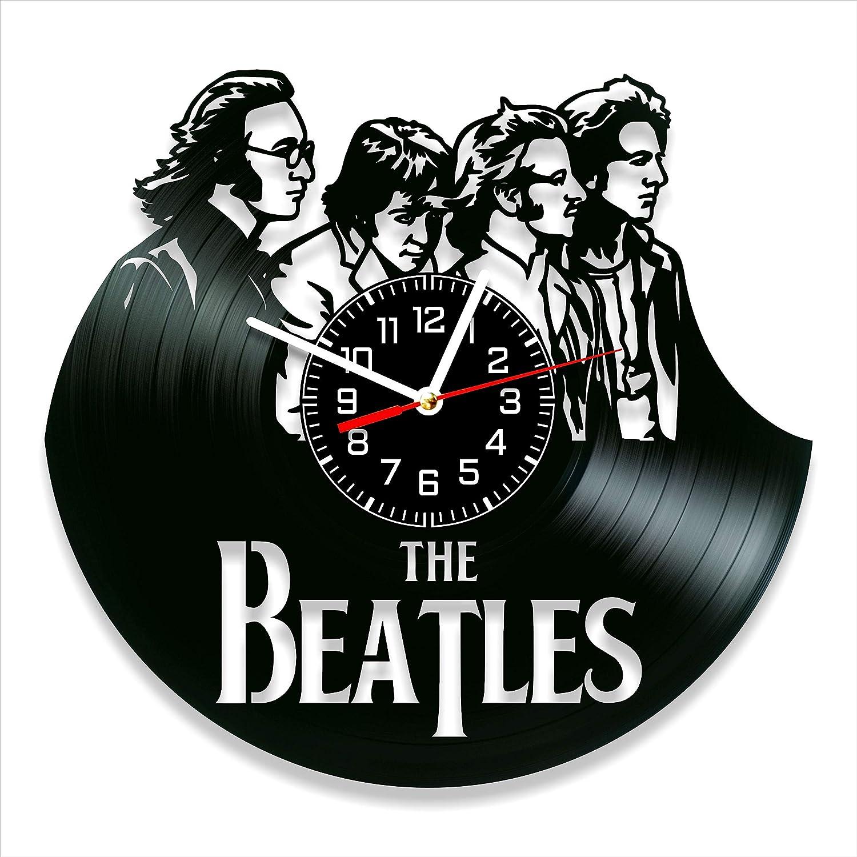 The Beatles Vinyl Clock, The Beatles Wall Clock 12 inch (30 cm), Original Gifts for Fans The Beatles, The Best Home Decorations, Unique Art Decor, Original Idea for Home Decor