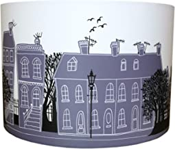 DOVE GRAY STREET LAMPSHADE by MOLLYMAC | Contemporary House Design | Street Scene | Home Sweet Home | 12