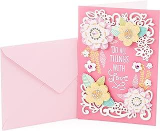 Hallmark Signature Birthday Card (Scattered Flowers)