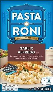 Pasta Roni Garlic Alfredo Fettuccine Mix 4.8 oz each (Pack of 12 Boxes)