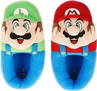 Super Mario Bros Mario and Luigi Children's Slippers
