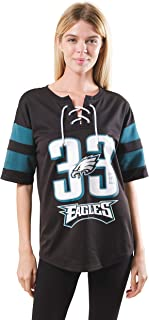 NFL Women's Lace Up T-shirt Jersey