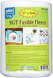 "Pellon 987F Fusible Fleece 22"" (Bolt, 7 yards), Fabric by the Bolt"