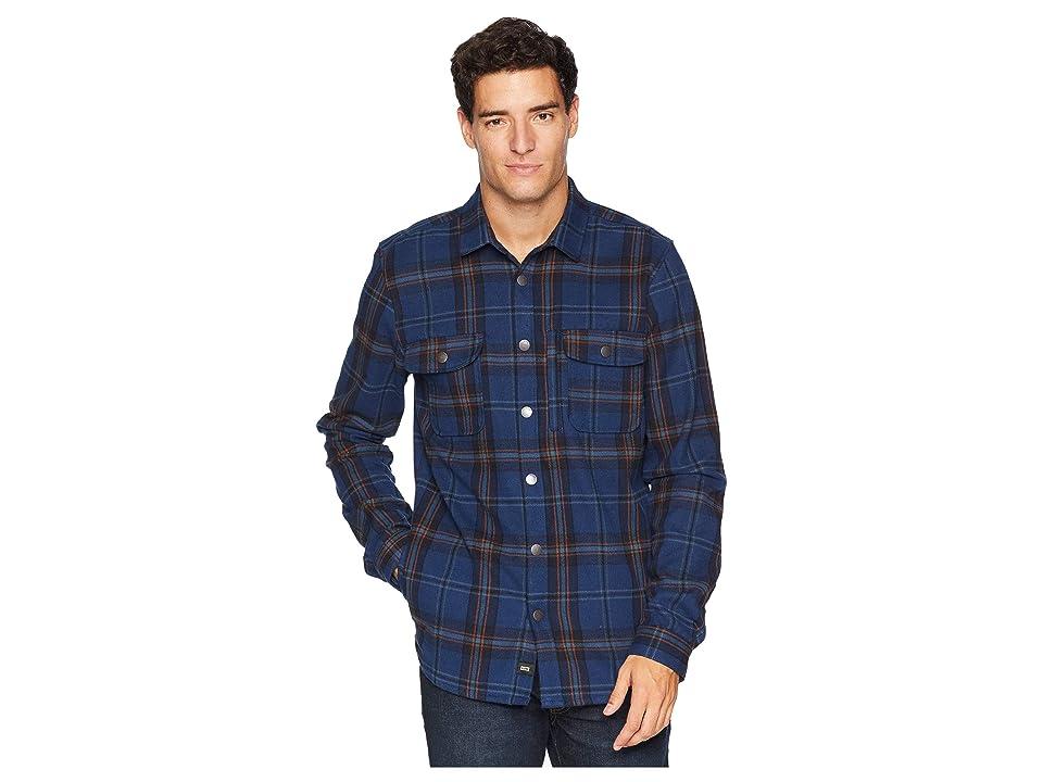 Globe Clifton Long Sleeve Shirt (Midnight) Men