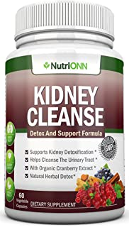 Sponsored Ad - KIDNEY CLEANSE - Detox and Support For Urinary Tract, Bladder and Kidneys - All Natural Herbal Supplement F...