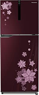 Panasonic 307 L 3 Star ( 2019 ) Inverter Frost-Free Double-Door Refrigerator (NR-BG311VPW3, Pointed Flower Wine)