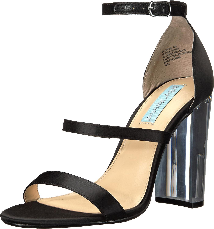 Betsey Johnson bluee Women's Sb-Dafne Dress Sandal