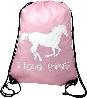 Horse Backpack-Pink,