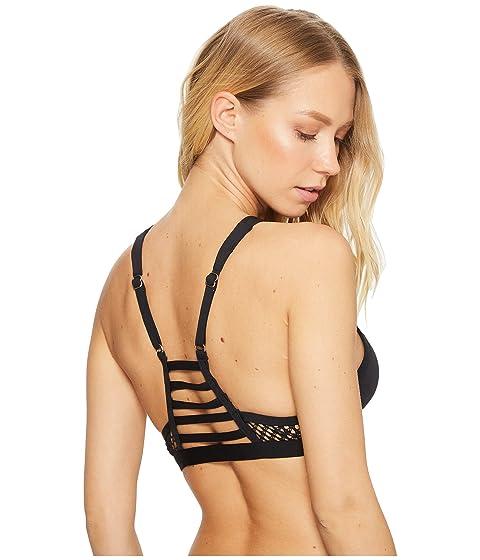 Neck Mesh Bikini High Jantzen Top Solids tRxwCCqdZ