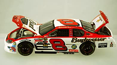 Dale Earnhardt Jr #8 12 February 2004 Budweiser Monte Carlo Born ON Date Twin 125 Win Raced Version 1/24 Scale Action Racing Collectables Limited Edition car