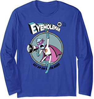 Eyehole Man - Rick and Morty Long Sleeve Shirt