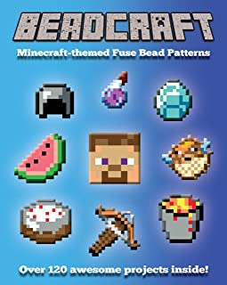 Beadcraft: The Ultimate Minecraft-themed Fuse Bead Pattern Collection (English Edition)