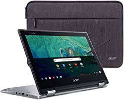 Acer Chromebook Spin 11 Convertible Laptop, Intel Celeron N3350, 11.6