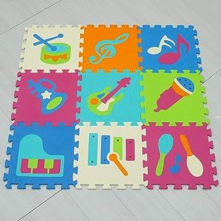 PICCOLOTOYS Manta Puzzle Eva 9 Piezas Dinosaurios Juguetes para primera infancia
