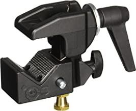 Manfrotto 035RL Super Clamp with 2908 Standard Stud - Replaces 2900 - Black
