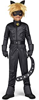 Yiija Fast Fun-231153 Miraculous Disfraz Cat Noir, 12-14 años (Viving Costumes 231153)
