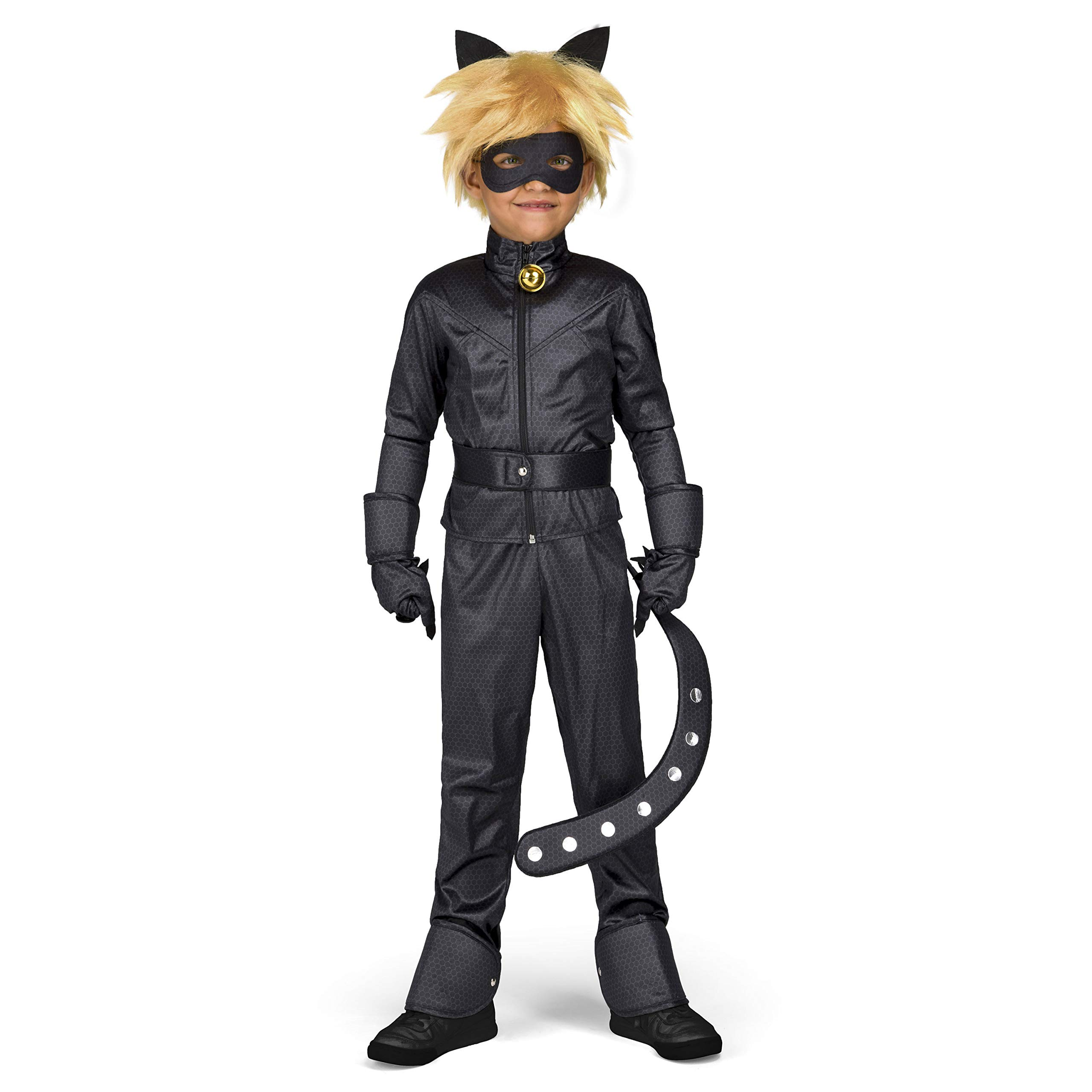 My Other Me Me 231152 Miraculous Cat Noir - Disfraz para niños, 9 ...