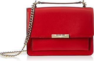 حقيبة كتف بحجم لارج ولون احمر زاهي من مايكل كورس - حجم واحد