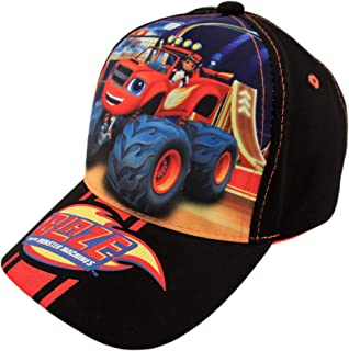 Toddler Boys Blaze and The Monster Machines Cotton Baseball Cap, Age 2-4 Black, Red
