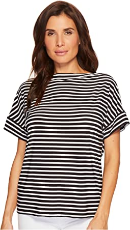 LAUREN Ralph Lauren - Striped Jersey T-Shirt