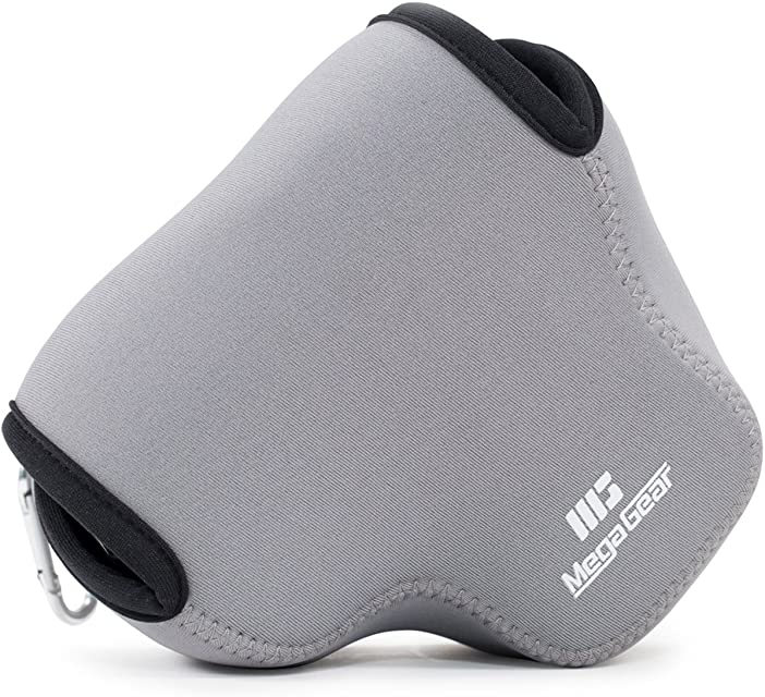 MegaGear Estuche de cámara Ultra Ligero de Neopreno Compatible con Panasonic Lumix DMC-FZ300