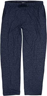 Adamo Loungewear 'Leon' Trousers Navy Heather up to the Large Size 12XL
