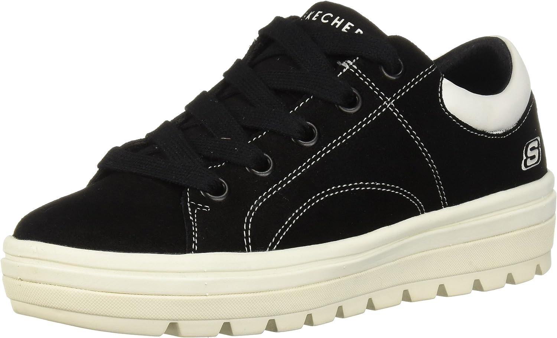 Skechers Womens Street Cleat-Back Again Sneakers