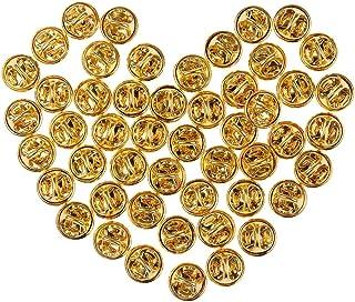 Lot de 10 WOVELOT Lot de 20 fermoirs de Broches de Petite Taille 25 mm