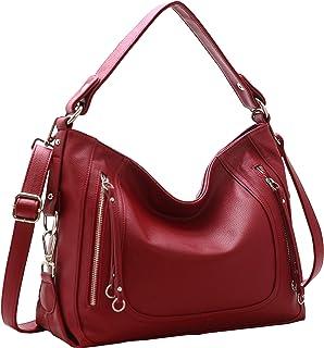 Heshe PU Leather Women?s Handbags Shoulder Bag Tote Top Handle Bag Hobo Ladies Designer Purse Satchel Bags Crossbody Bag