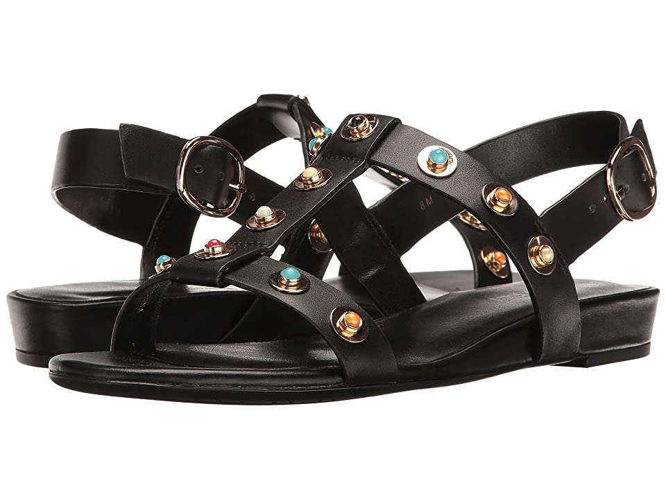Vaneli Bella (Black Nappa/Multi Stones) Women