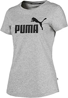 Puma ESS Logo Tee T-Shirt Femme, Noir (Cotton Black), XXL