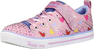 Skechers Sparkle Lite - Heart Sketch Girls Sneakers