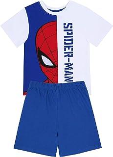 Pijama de Chicos, Blanco Azul Spider-Man Marvel