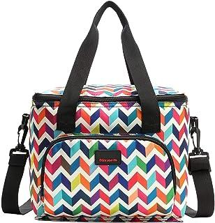 comprar comparacion Nevera portátil de 10 l, bolsa para el almuerzo, bolsa para guardar comida, multifuncional, pequeña bolsa de picnic, bolsa...
