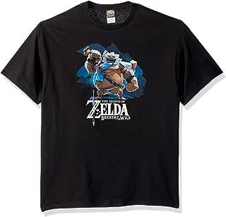 Nintendo Men's Zelda Breath of The Wild Goron Paint T-Shirt