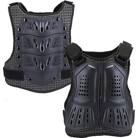Motorrad Motocross Körperschutzweste Jacke Weste Brustpanzer Brustschutz