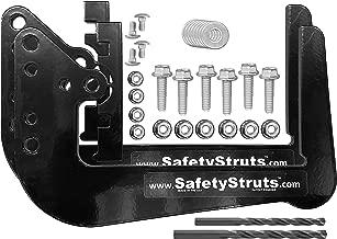Mount-n-Lock SafetyStruts Prevent RV Bumper Failure TM (SSN-Standard, Black)