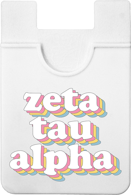 Zeta Tau Alpha - Retro Koala Pouch - Adhesive Cell Phone Wallet
