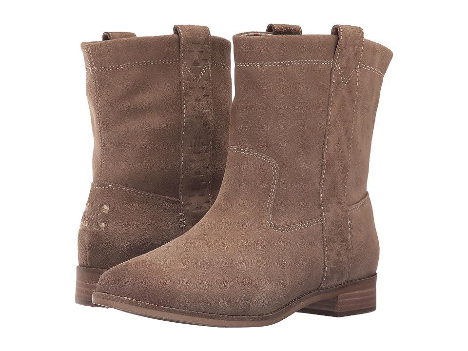 TOMS Laurel Boot (Amphora Burnished Suede) Women